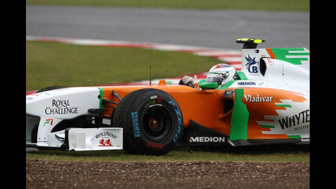 Paul di Resta GP England 2011 Rennen