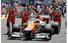 Paul di Resta GP Europa 2012