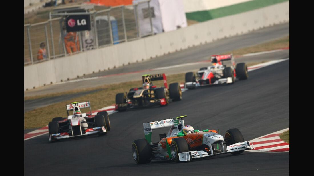 Paul di Resta GP Indien 2011