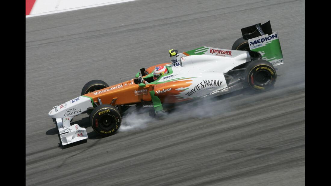 Paul di Resta GP Malaysia 2011