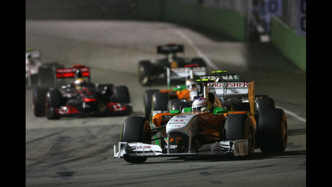 Paul di Resta GP Singapur 2011