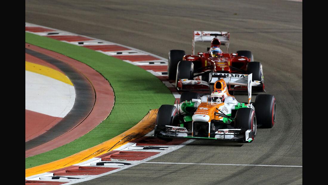 Paul di Resta - GP Singapur 2013
