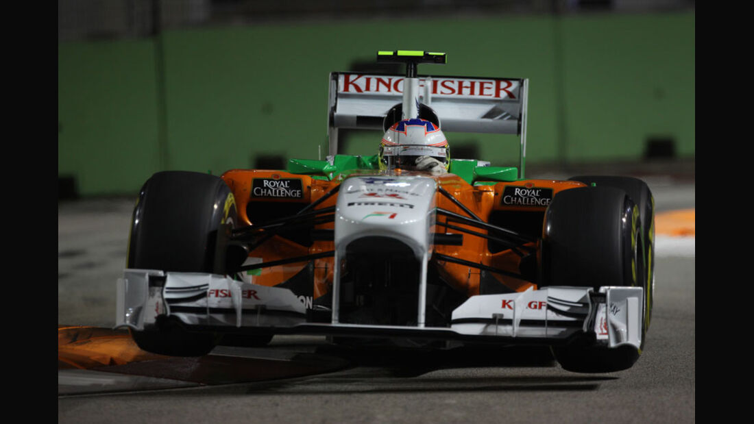 Paul di Resta - GP Singapur - 24. September 2011
