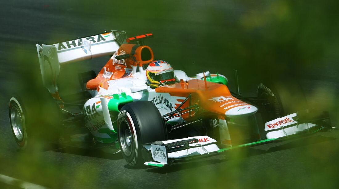 Paul di Resta GP Ungarn 2012