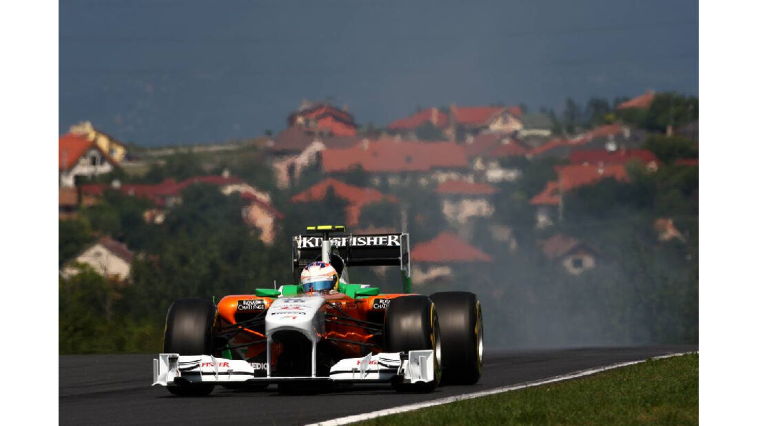Paul di Resta - GP Ungarn - Formel 1 - 30.7.2011