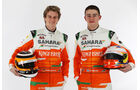 Paul di Resta & Nico Hülkenberg Force India 2012