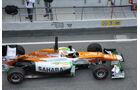 Paul die Resta - Force India - Formel 1-Test Barcelona - 3. März 2012