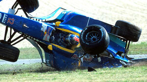 Pedro Diniz - 1996 - Nürburgring - Crash