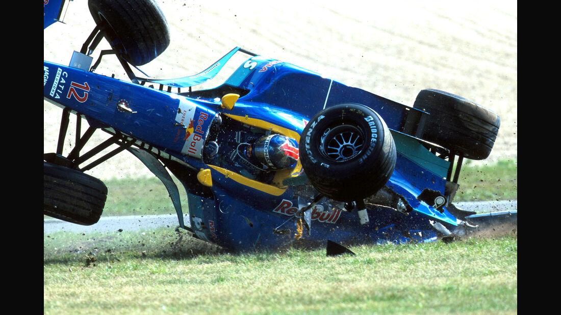 Pedro Diniz - 1996 - Nürburgring - Crash