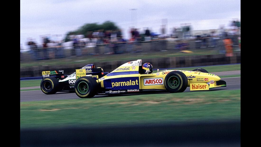 Pedro-Diniz - Forti Ford FG01 - Formel 1 - 1995
