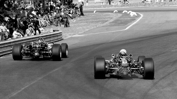 Pedro Rodriguez - Cooper T81B - GP Mexiko 1967