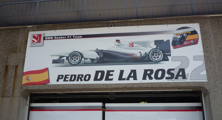 Pedro de la Rosa Box