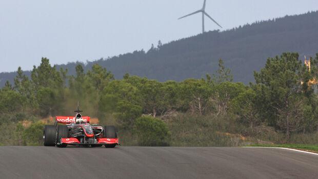 Pedro de la Rosa - F1 Test - Portimao - 2009