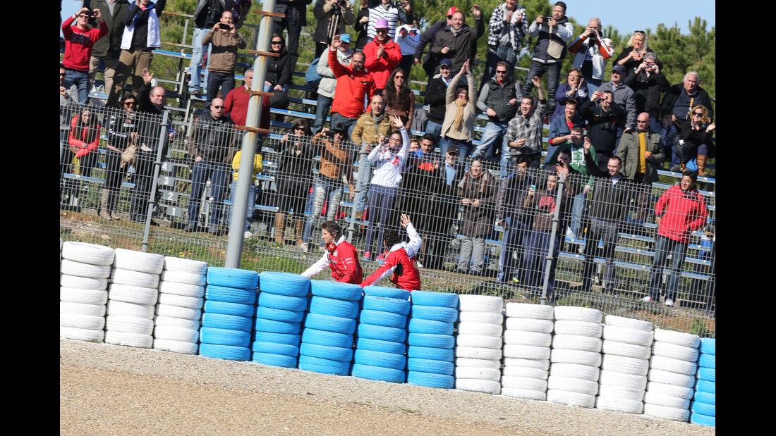 Pedro de la Rosa - Ferrari - Formel 1 - Jerez - Test - 30. Januar