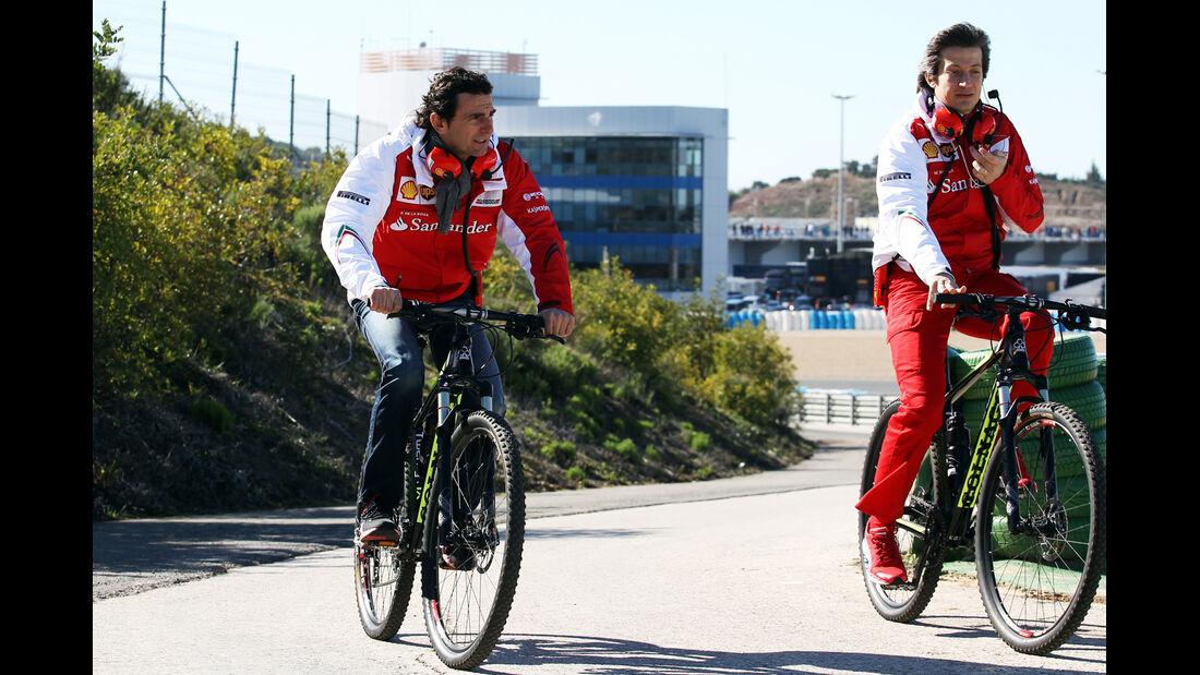 Pedro de la Rosa - Ferrari - Formel 1 - Jerez - Test - 30. Januar 2014