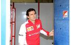 Pedro de la Rosa - Ferrari - Formel 1 - Test - Jerez - 29. Januar 2014