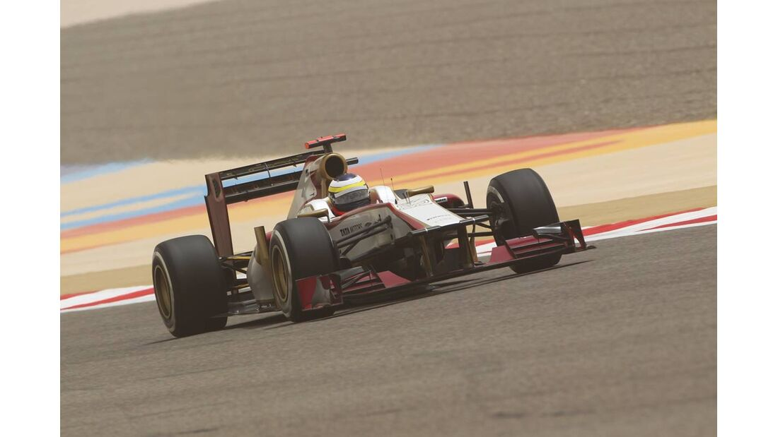Pedro de la Rosa - Formel 1 - GP Bahrain - 21. April 2012