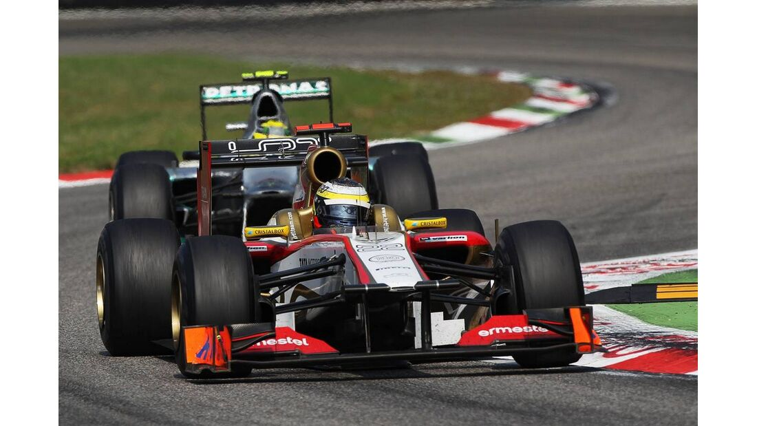 Pedro de la Rosa - Formel 1 - GP Italien - 09. September 2012