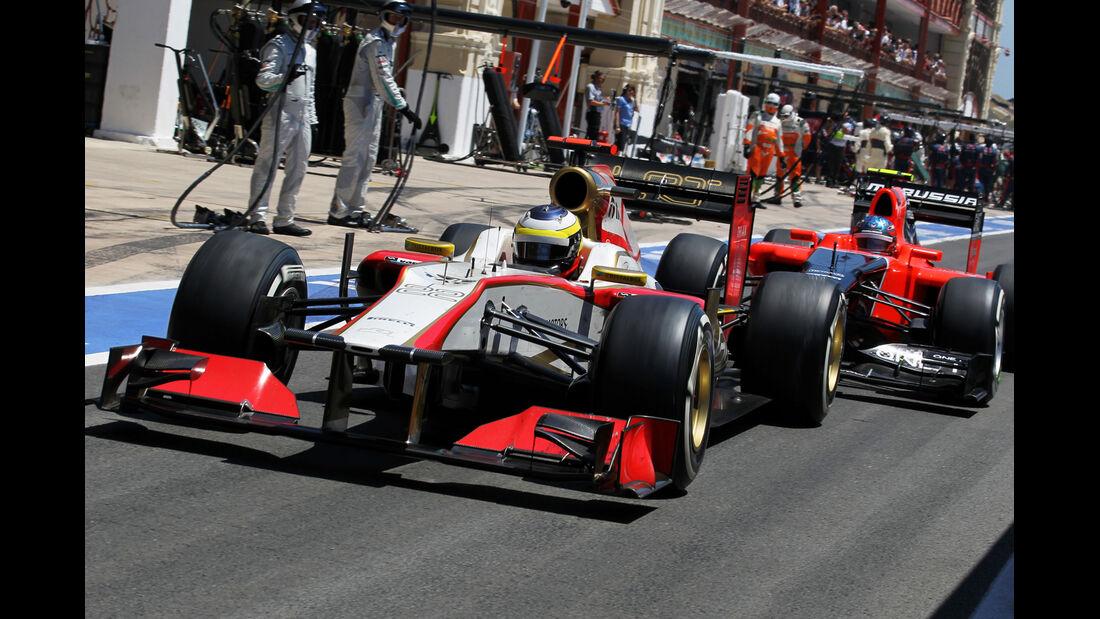 Pedro de la Rosa GP Europa 2012