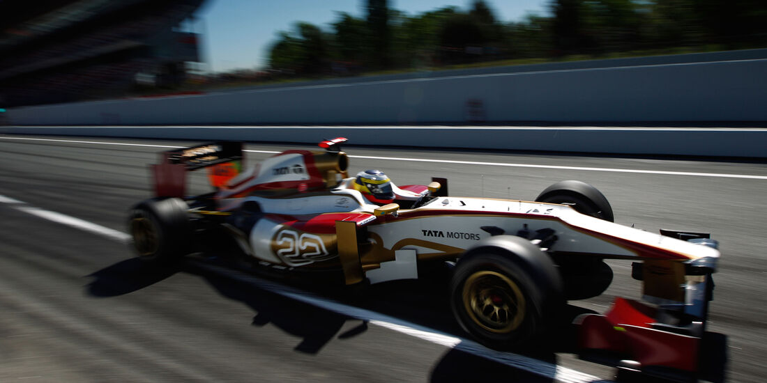 Pedro de la Rosa GP Spanien 2012