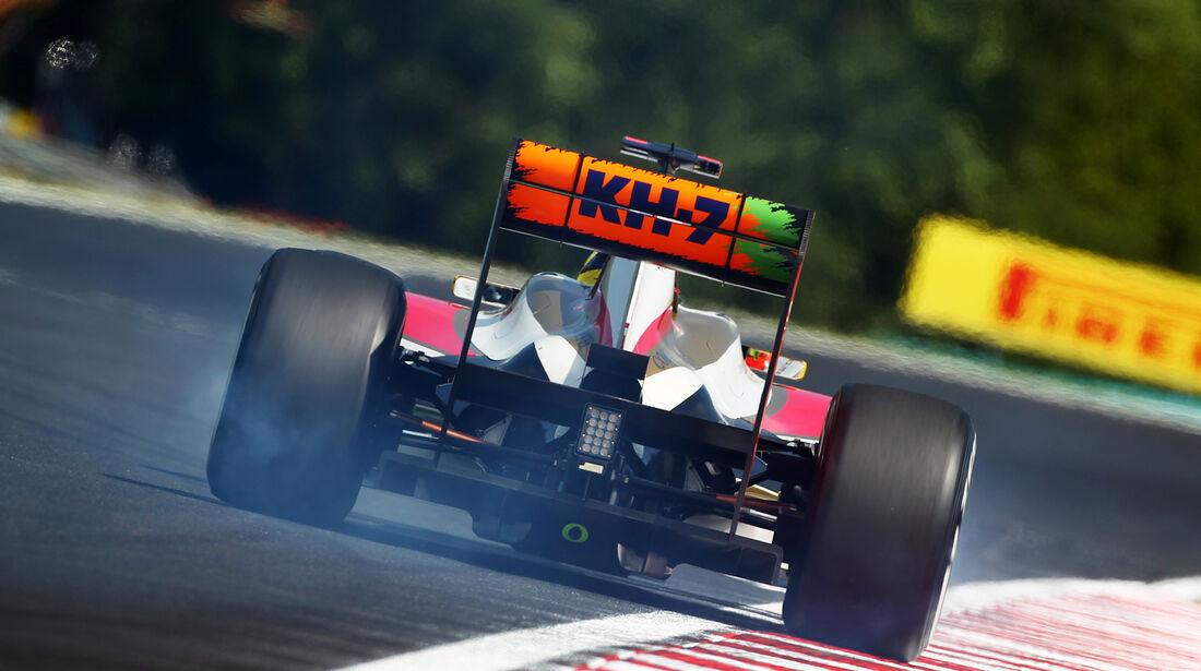 Pedro de la Rosa GP Ungarn 2012