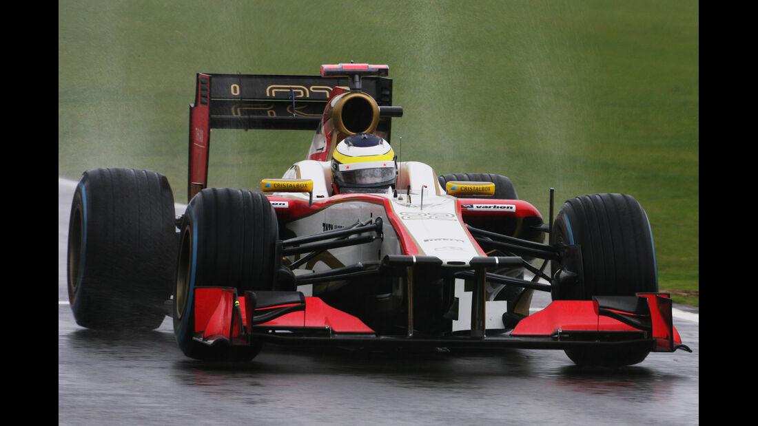Pedro de la Rosa - HRT - Formel 1 - GP England - Silverstone - 6. Juli 2012