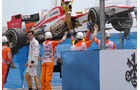 Pedro de la Rosa - HRT - GP Europa - Valencia - Formel 1 - 22. Juni 2012