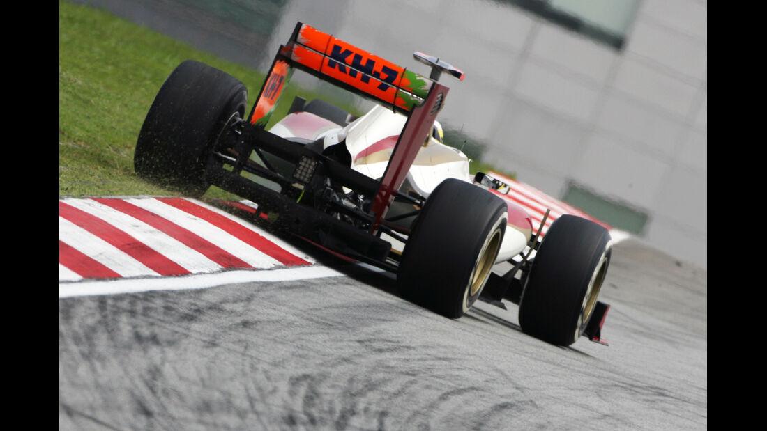 Pedro de la Rosa - HRT - GP Malaysia 2012