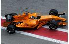 Pedro de la Rosa - McLaren MP4-21 - Test - Barcelona - 2006
