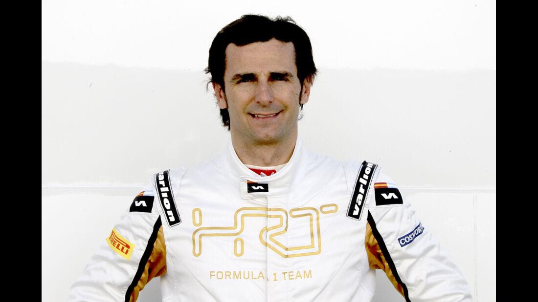 Pedro de la Rosa Porträt 2012