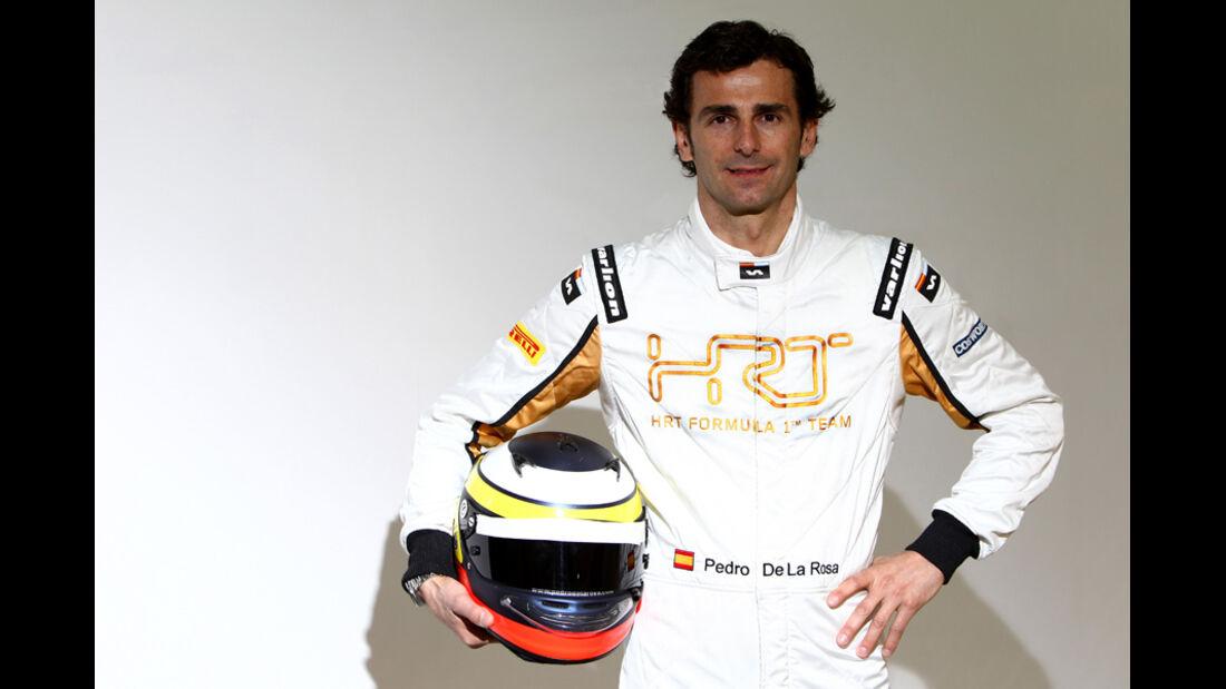Pedro de la Rosa Porträt Hispania HRT 2012