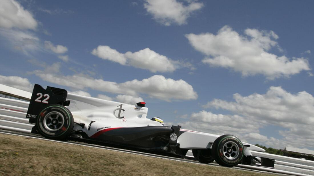 Pedro de la Rosa - Sauber F1