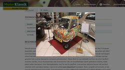 Peel P50 Leon Löwentraut Art Car MKL Markt