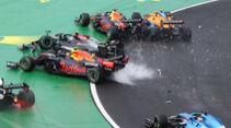 Perez - Bottas - Verstappen - Norris - GP Ungarn 2021 - Budapest - Rennen