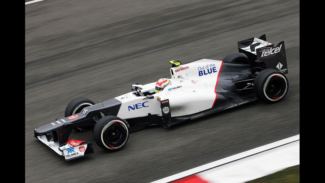Perez - Formel 1 - GP China - 13. April 2012