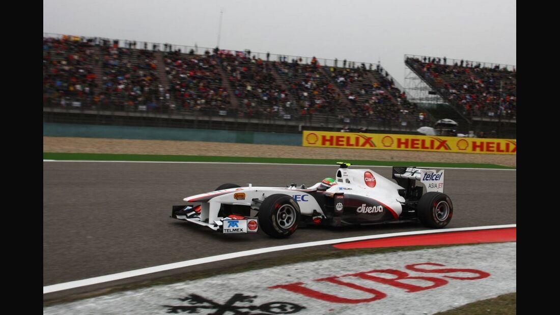 Perez Formel 1 GP China 2011