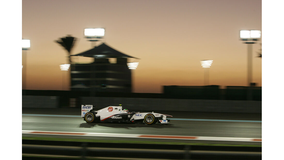 Perez GP Abu Dhabi 2011