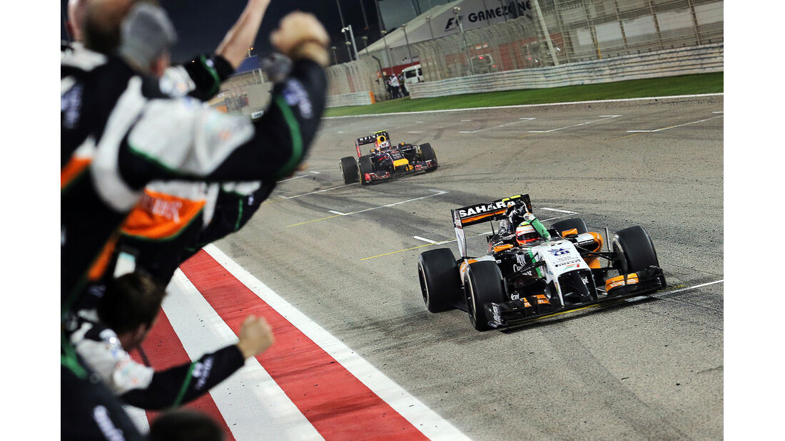Perez - GP Bahrain 2014