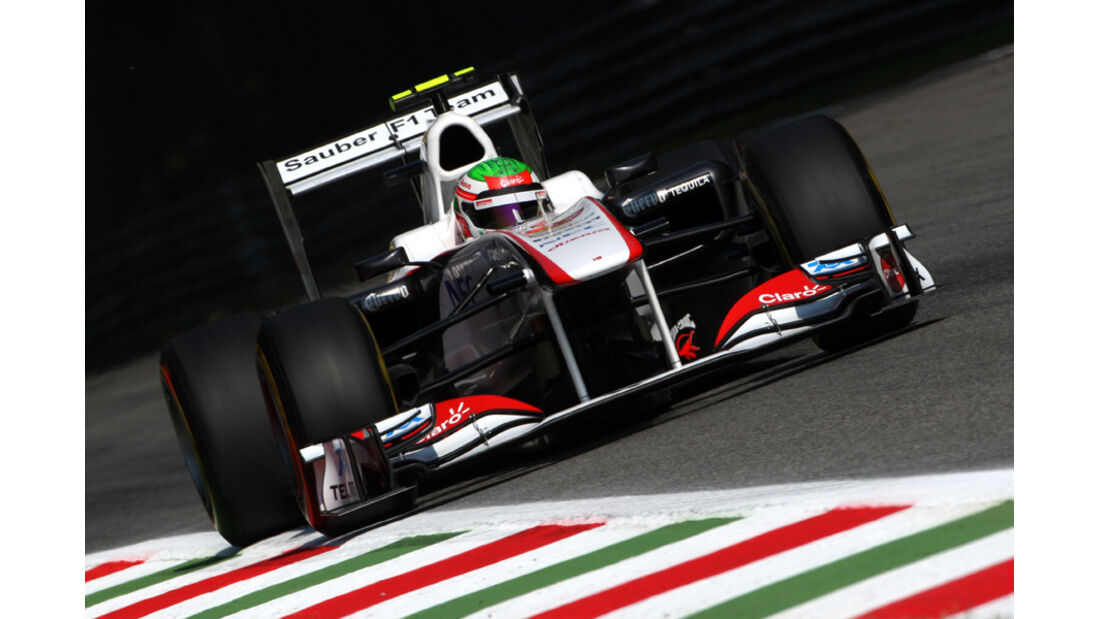 Perez GP Italien 2011