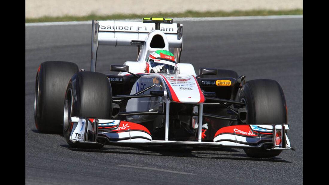 Perez GP Spanien 2011