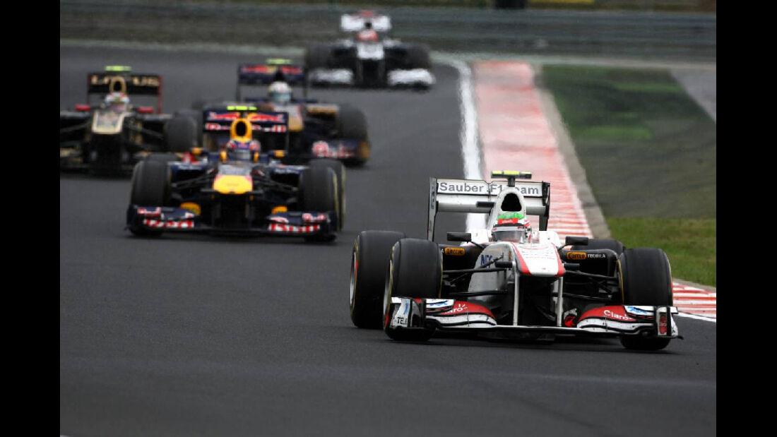 Perez - GP Ungarn - Formel 1 - 31.7.2011 - Highlights