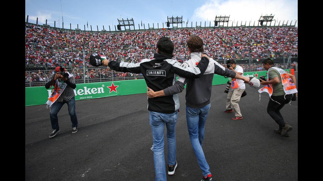 Perez & Gutierrez - GP Mexiko 2016