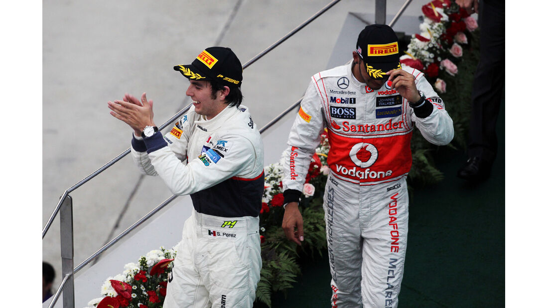 Perez & Hamilton GP Malaysia 2012