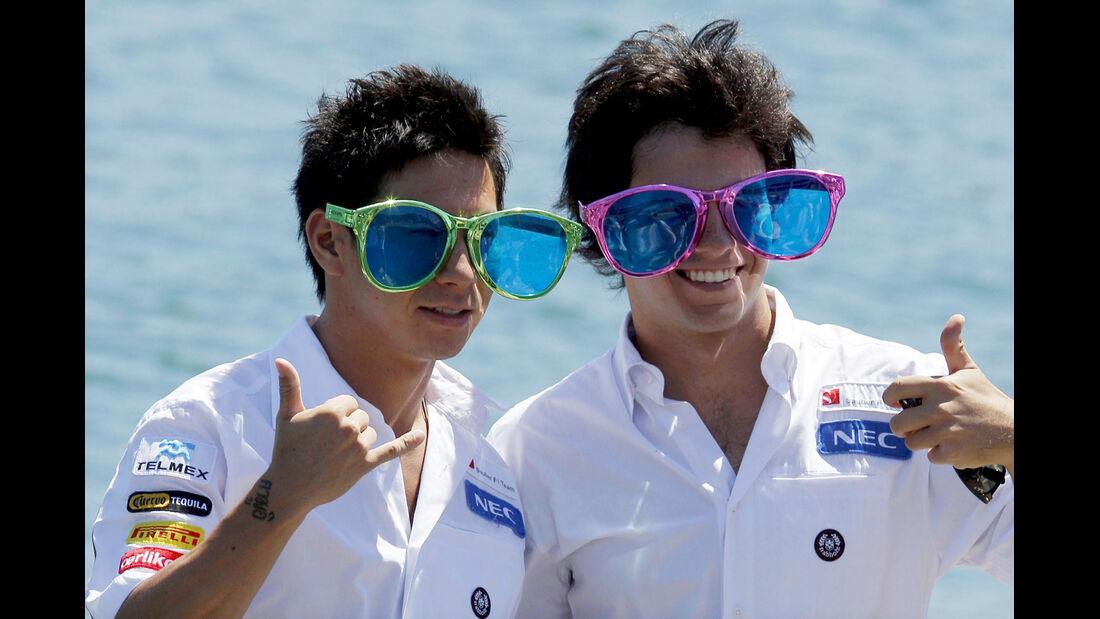 Perez Kobayashi Sauber GP Europa 2012