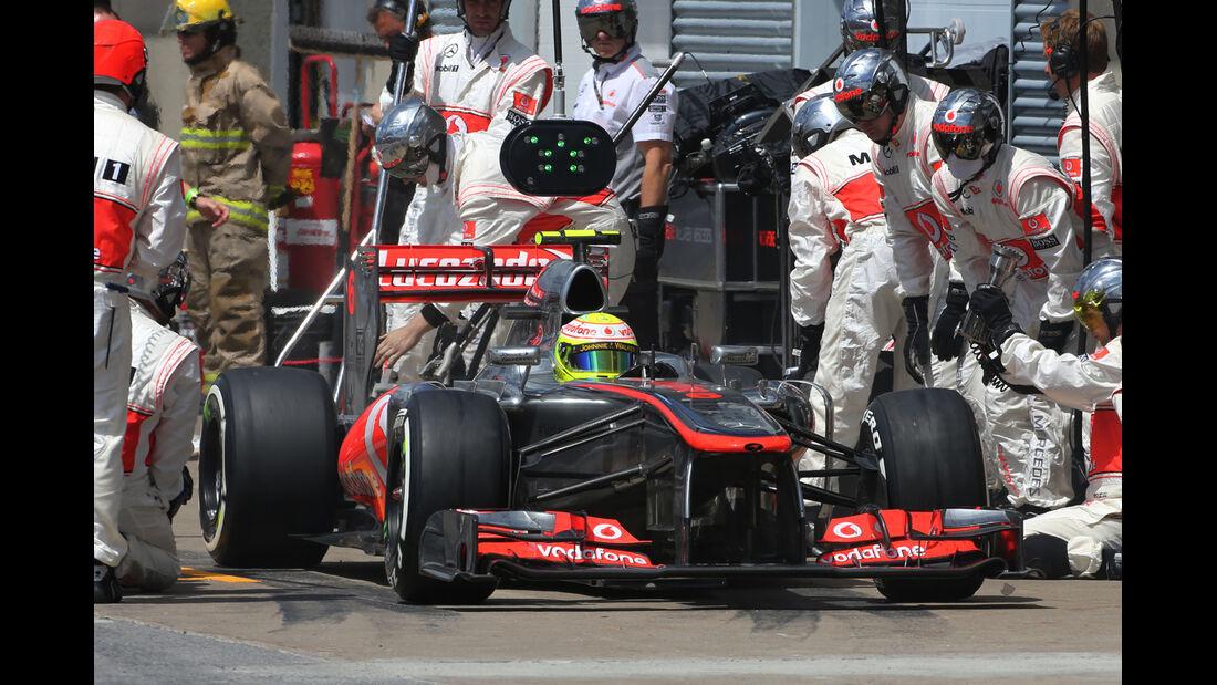 Perez - McLaren - GP Kanada 2013