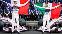 Perez - Ocon - Force India - GP Mexiko 2017 - Qualifying
