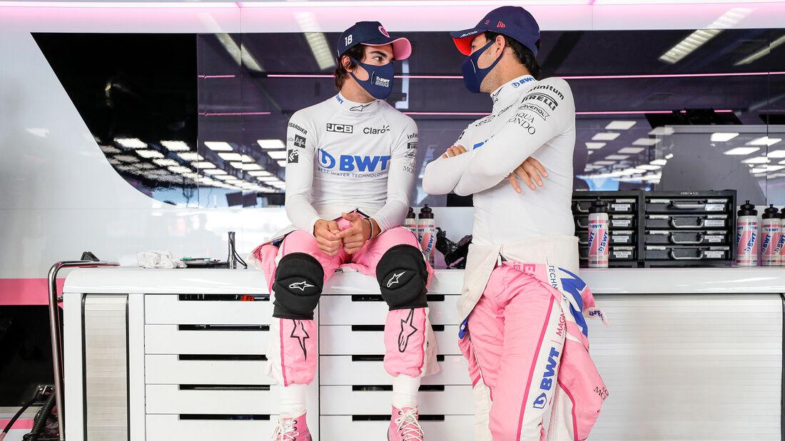 Perez & Stroll - Racing Point - Formel 1 - GP Italien - Monza - 4. September 2020