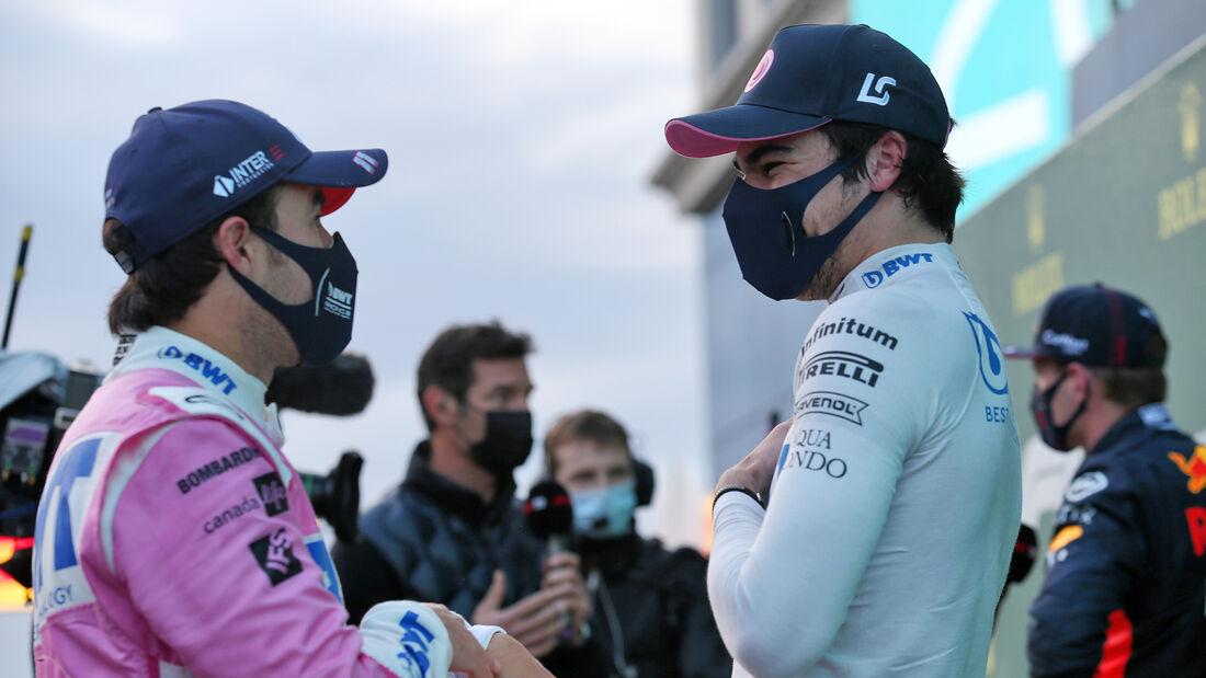 Perez - Stroll - Racing Point - Formel 1 - GP Türkei - Istanbul - Samstag - 14.11.2020