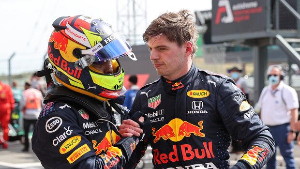 Perez & Verstappen - GP Portugal - Formel 1 - 2. Mai 2021