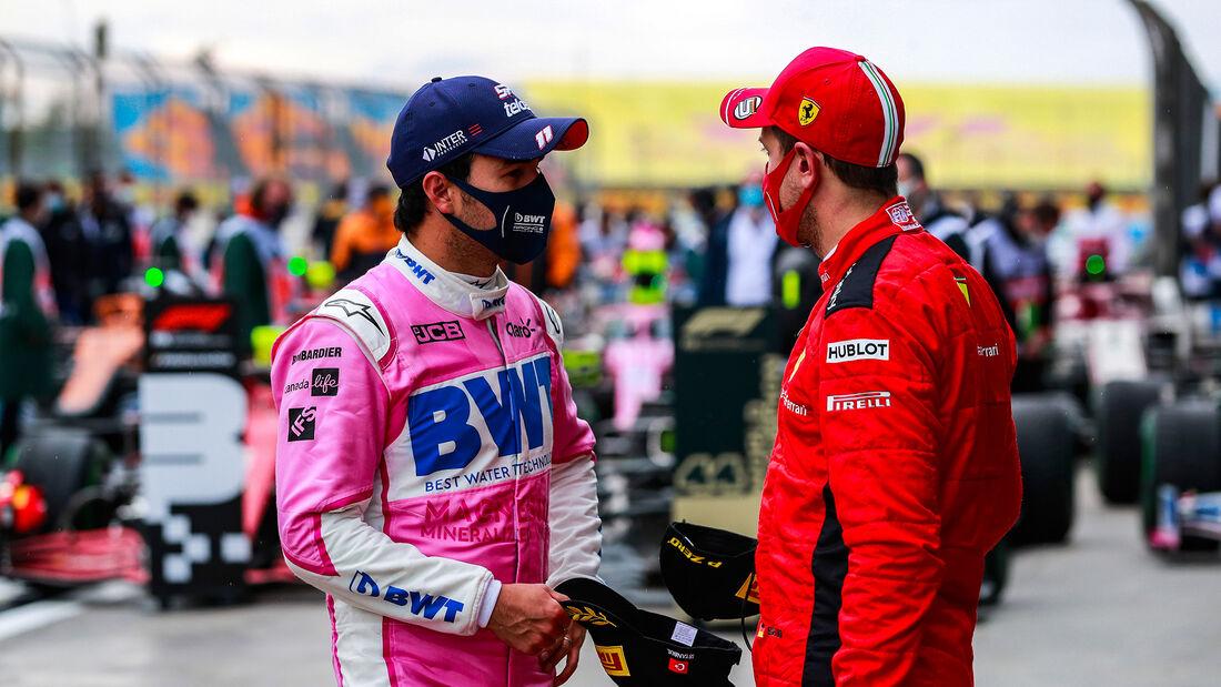Perez - Vettel - GP Türkei 2020 - Istanbul - Rennen
